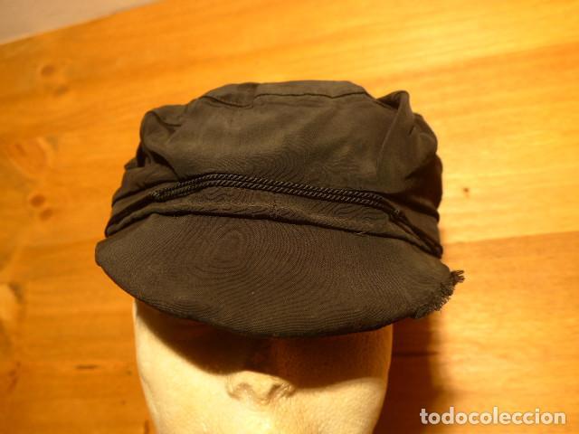 Militaria: Antigua gorra de obrero de principios s.XX, tipica de republicanos de guerra civil, original. - Foto 3 - 140420826
