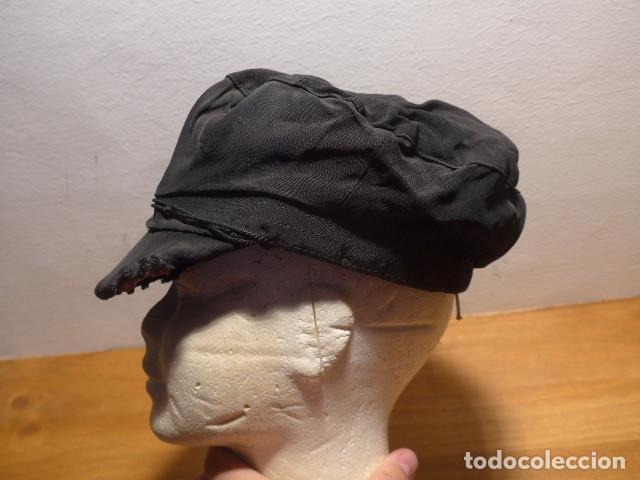 Militaria: Antigua gorra de obrero de principios s.XX, tipica de republicanos de guerra civil, original. - Foto 5 - 140420826