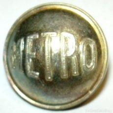 Militaria: BOTON METRO FERROCARRILES TREN . Lote 140561198