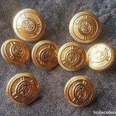 Militaria - lote 8 botones militares - 140608386
