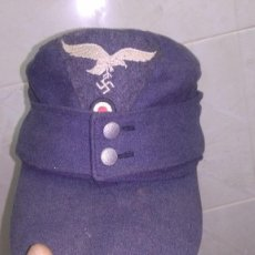 Militaria: PRECIOSA GORRA O FELTMUTZE M43 ALEMANA DE LA LUFTWAFFE PARA TROPA TALLA 58 TOTALMENTE ORIGINAL. Lote 140682786