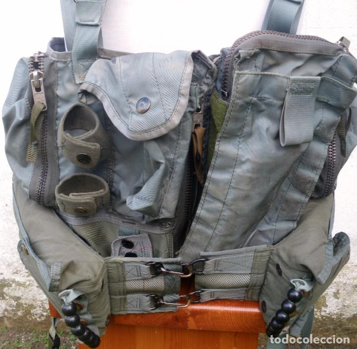 Militaria: Chalecos salvavidas y táctico de piloto de helicóptero, aviación. - Foto 2 - 140737782