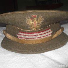 Militaria: GORRA DE PLATO SARGENTO ESPECIALISTA. MÉDICO.. Lote 140899466