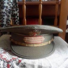 Militaria: GORRA DE PLATO DE SARGENTO. Lote 141013557