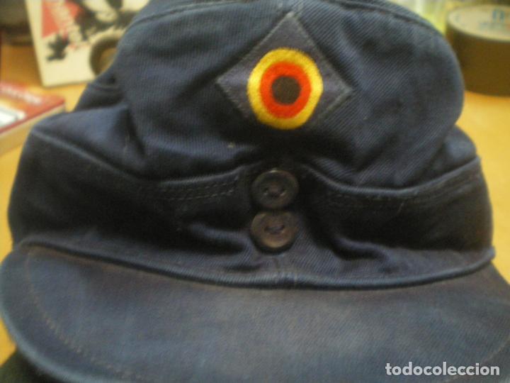 Militaria: GORRA ALEMANA TIPO M43 - Foto 2 - 141609026