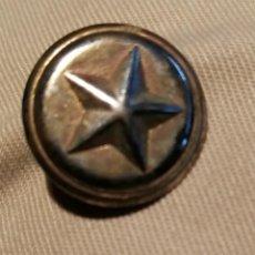 Militaria: BOTÓN MILITAR. ESTRELLA DE CINCO PUNTAS.. Lote 141665146