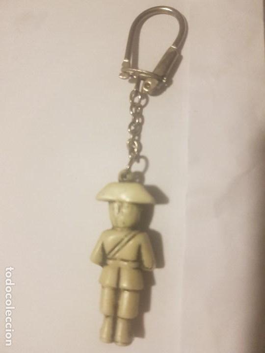 Militaria: ANTIGUO LLAVERO DE LA GUARDIA CIVIL. - Foto 2 - 141949782