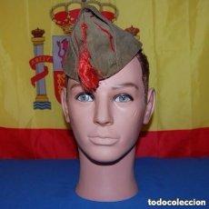 Militaria: GORRO/GORRILLO EJERCITO DE TIERRA ESPAÑOL REGLAMENTO DEL 43 EN TELA ORIGINAL¡¡¡¡. Lote 141962330
