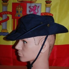 Militaria: CHAMBERGO DE ALGODON AZUL MARINO. Lote 142099718