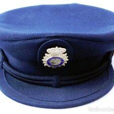 Militaria: POLICÍA NACIONAL, GORRA DE PLATO AZUL. Lote 142218750