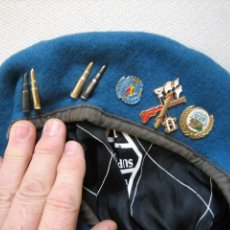 Militaria: BOINA CASCOS AZULES DE LA LEGION U.N UNPROFORT. Lote 142276278