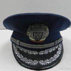Militaria: ANTIGUO GORRO DE OFICIAL DE POLICÍA AUTENTICO DE LA ERA COMUNISTA MUY BUEN ESTADO RARO. Lote 142782362