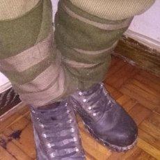 Militaria: BOTAS ALEMANAS O SUIZAS ORIGINALES AÑOS 40 DE MONTAÑA GEBIRSJAGER. Lote 142998554