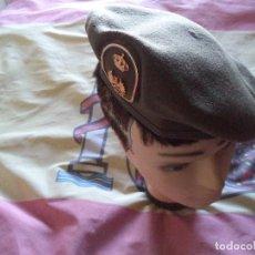 Militaria: BOINA E TIERRA AÑO 1987 TALLA 55. Lote 143034658
