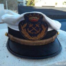 Militaria: ANTIGUA GORRA DE LA MARINA MERCANTE. Lote 143045246