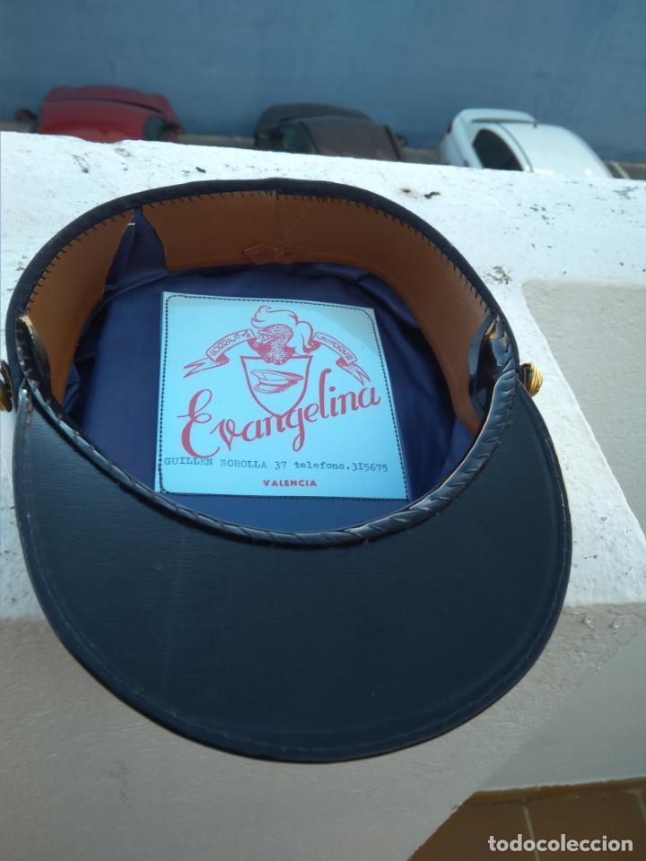 Militaria: Antigua gorra de la Marina mercante - Foto 3 - 143045246