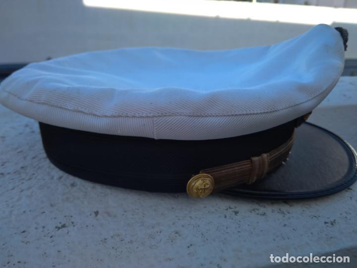 Militaria: Antigua gorra de la Marina mercante - Foto 5 - 143045246