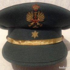 Militaria: GUARDIA CIVIL, GORRA DE PLATO DE ALFEREZ, ÉPOCA JUAN CARLOS I. Lote 143102010