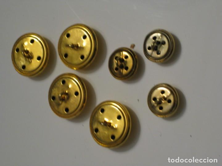 Militaria: 7 botones escudo de España. - Foto 5 - 143261478