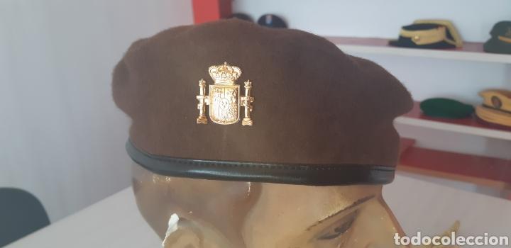 BOINA MARRON PARA GUARDA RURAL O GUARDA DE CAMPO (Militar - Boinas y Gorras )