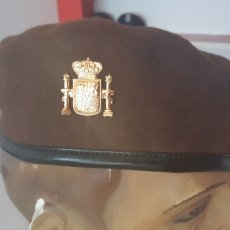 Militaria: BOINA MARRON PARA GUARDA RURAL O GUARDA DE CAMPO. Lote 143287869
