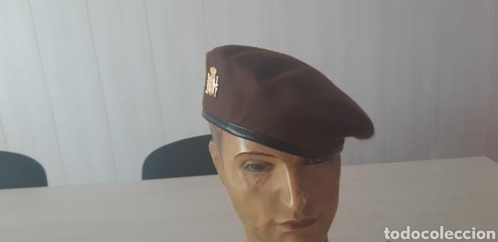 Militaria: Boina marron para guarda rural o guarda de campo - Foto 2 - 143287869