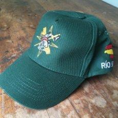 Militaria: GORRA TIPO VISERA DE LA GUARDIA CIVIL SERVICIO MARÍTIMO DEL BUQUE PATRULLERO RIO SEGURA. Lote 143296170