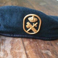 Militaria: BOINA DE LA GUARDIA CIVIL MARCA ELOSEGUI TALLA 56. Lote 143296874