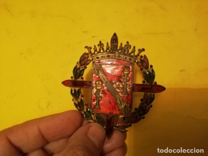 Militaria: Emblema militar escolta Franco - Foto 4 - 143319602