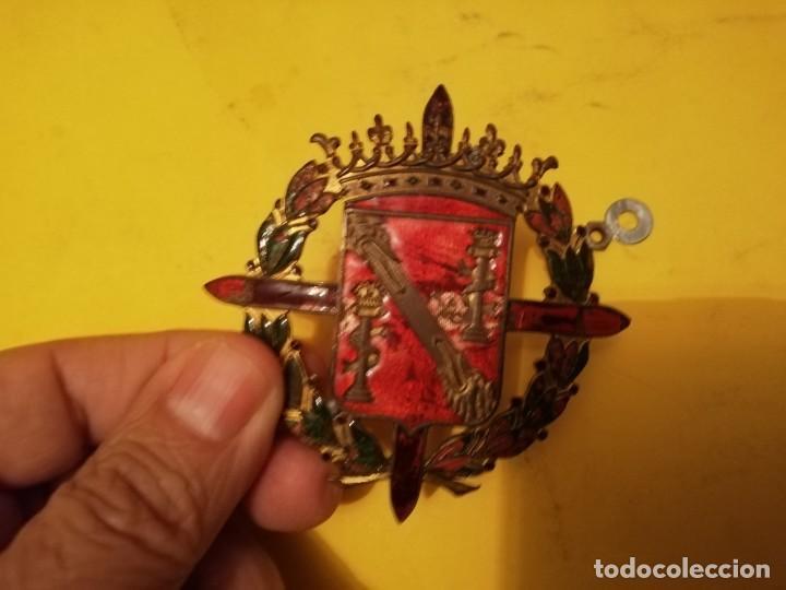 Militaria: Emblema militar escolta Franco - Foto 8 - 143319602