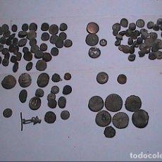 Militaria: LOTE COLECCIÓN DE 110 BOTONES DESDE ROMANO-MEDIEVALES HASTA ALFONSO XII.BOTONISTICA HISPANICA.. Lote 143738058