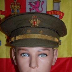 Militaria: GORRA DE PLATO TENIENTE EJERCITO DE TIERRA ESPAÑOL 1977. Lote 143767342