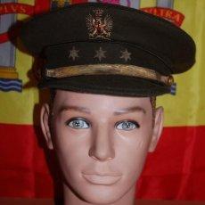 Militaria: GORRA DE PLATO CAPITAN EJERCITO DE TIERRA EPOCA DE FRANCO. Lote 143767422