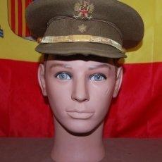Militaria: GORRA DE PLATO ALFEREZ EJERCITO DE TIERRA ESPAÑOL 1977. Lote 143767534