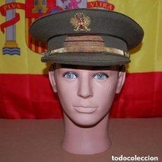 Militaria: GORRA DE PLATO SARGENTO DEL EJERCITO DE TIERRA AÑOS 40-03. Lote 143767678