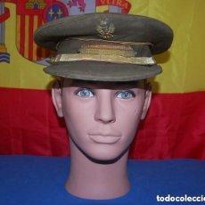 Militaria: GORRA DE PLATO SARGENTO DEL EJERCITO DE TIERRA AÑOS 40-02. Lote 143767726