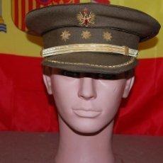 Militaria: GORRA DE PLATO CORONEL DEL EJERCITO DE TIERRA AÑOS 80/GORRA DE CORONEL. Lote 143767894