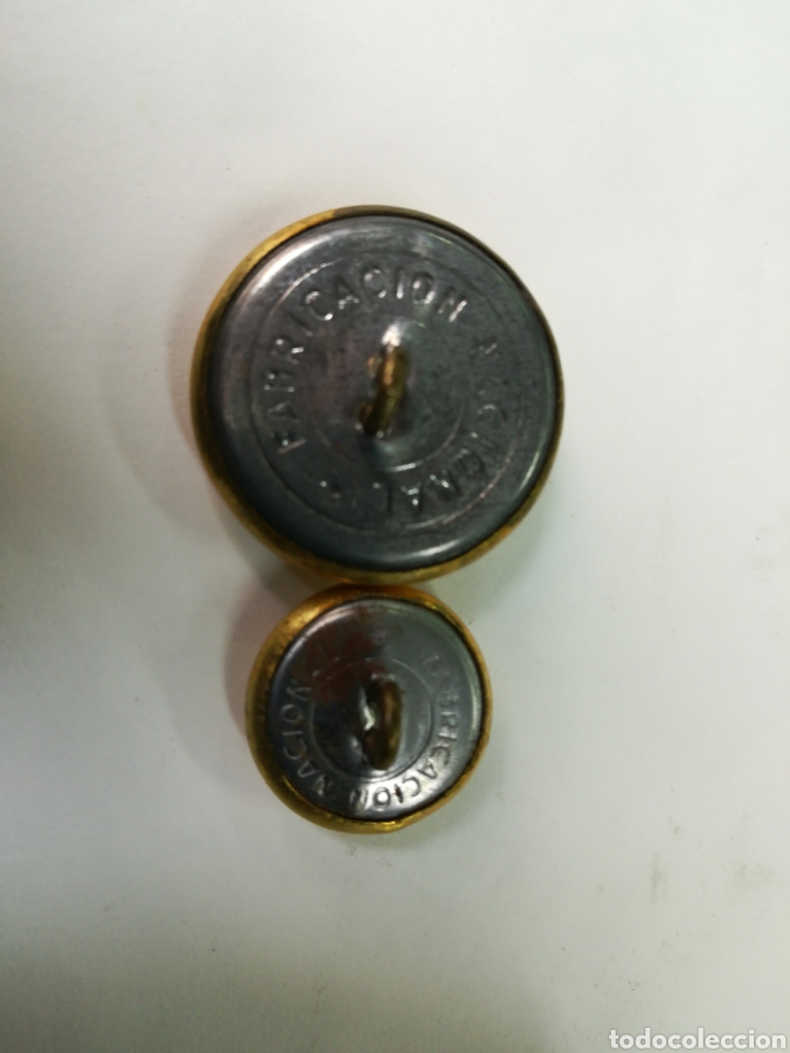 Militaria: Lote botones policía armada - Foto 2 - 143788481