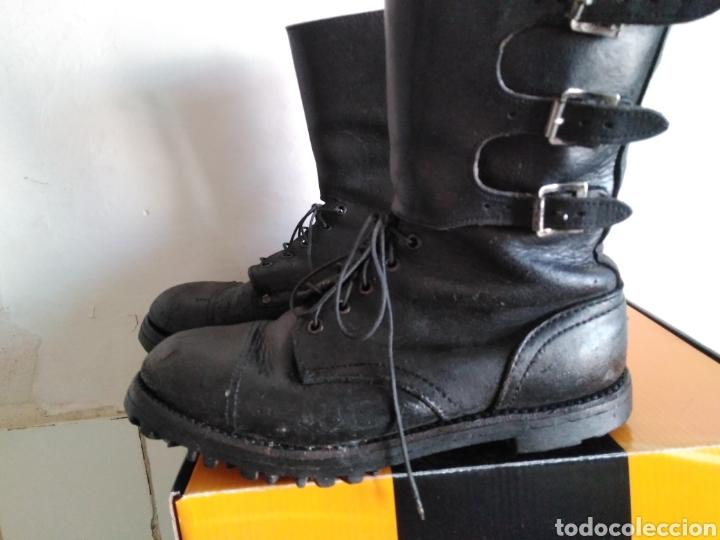Militaria: Botas segarra tres hebillas - Foto 2 - 143911580