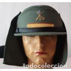 Militaria: ESTUPENDA GORRA DE CABO 1 DE TIRO DE LA LEGIÓN CON SIROQUERA TALLA DE LA 54 A LA 60. Lote 143954486