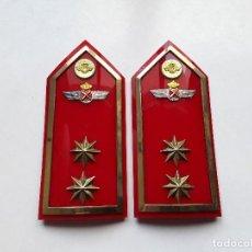 Militaria: PALAS - HOMBRERAS DE TTE. CORONEL DE AVIACIÓN. ÉPOCA J. CARLOS I. ENVÍO GRATUITO CERTIFICADO.. Lote 144379366