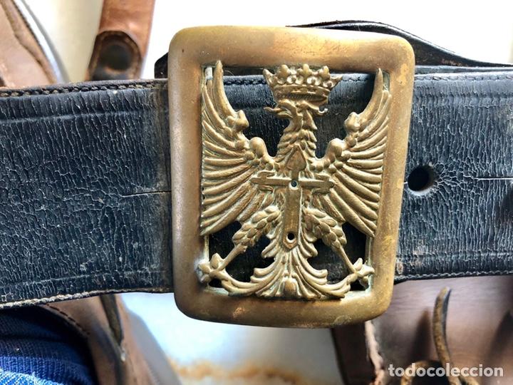 Militaria: ANTIGUO CINTURÓN OFICIAL EJÉRCITO ESPAÑOL SAM BROWNE - Foto 4 - 145157496