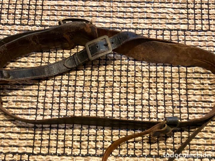 Militaria: ANTIGUO CINTURÓN OFICIAL EJÉRCITO ESPAÑOL SAM BROWNE - Foto 2 - 145157496