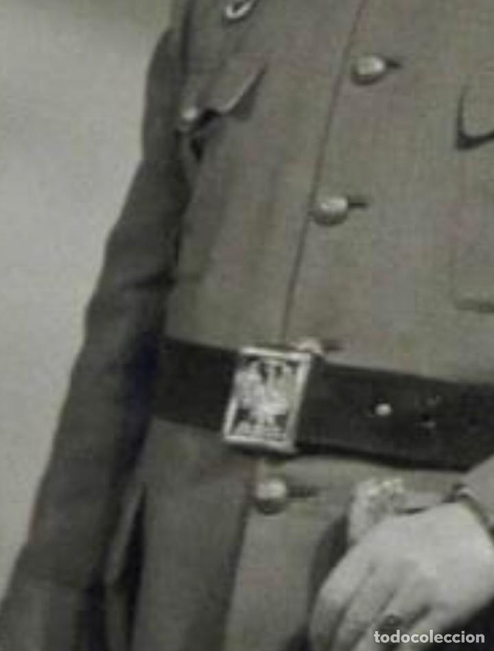 Militaria: ANTIGUO CINTURÓN OFICIAL EJÉRCITO ESPAÑOL SAM BROWNE - Foto 6 - 145157496