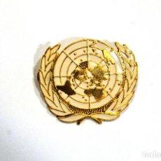 Militaria: EMBLEMA BOINA ONU. Lote 145244566