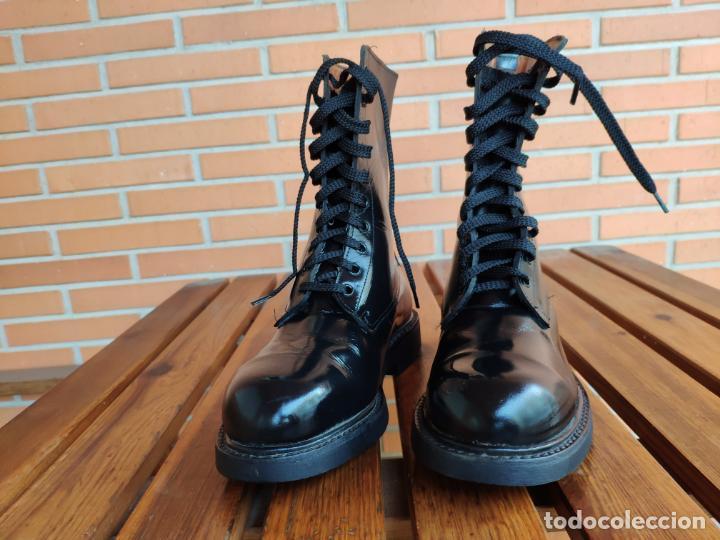 Militaria: Antiguas botas de cuero, BRIPAC EZAPAC paracaidistas imepiel T39 - Foto 8 - 180426128
