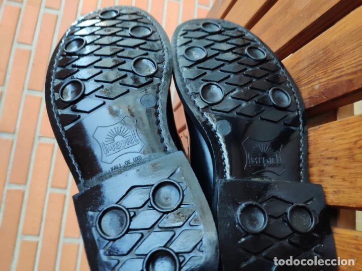 Militaria: Antiguas botas de cuero, BRIPAC EZAPAC paracaidistas imepiel T39 - Foto 9 - 180426128