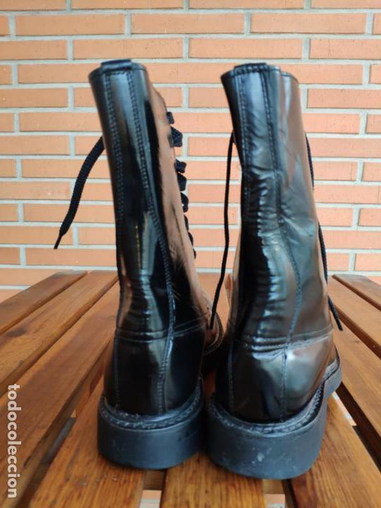 Militaria: Antiguas botas de cuero, BRIPAC EZAPAC paracaidistas imepiel T39 - Foto 4 - 180426128