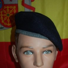 Militaria: BOINA MILITAR AZUL MARINO A IDENTIFICAR. Lote 145656814