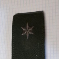 Militaria: HOMBRERA CON ESTRELLA PLATEADA BORDADA. Lote 145909238